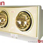 Đèn sưởi nhà tắm Kohn (BRAUN) KN02G – Chính hãng