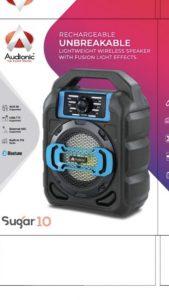 Loa Bluetooth Audionic Sugar-10 – Chính Hãng