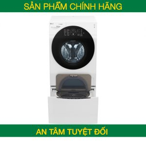 Máy giặt LG Twinwash FG1405S3W/TG2402NTWW giặt 10,5 kg, phụ 2 kg – Chính hãng