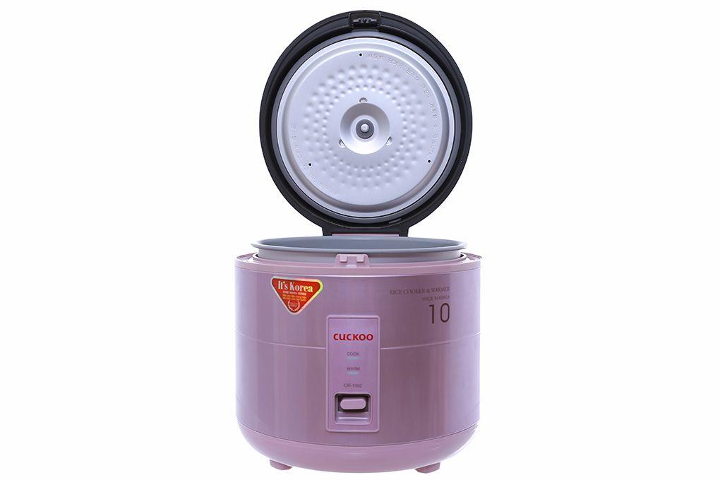 Nồi cơm điện Cuckoo CR-1062 màu hồng 1.8 lít - Chính hãng