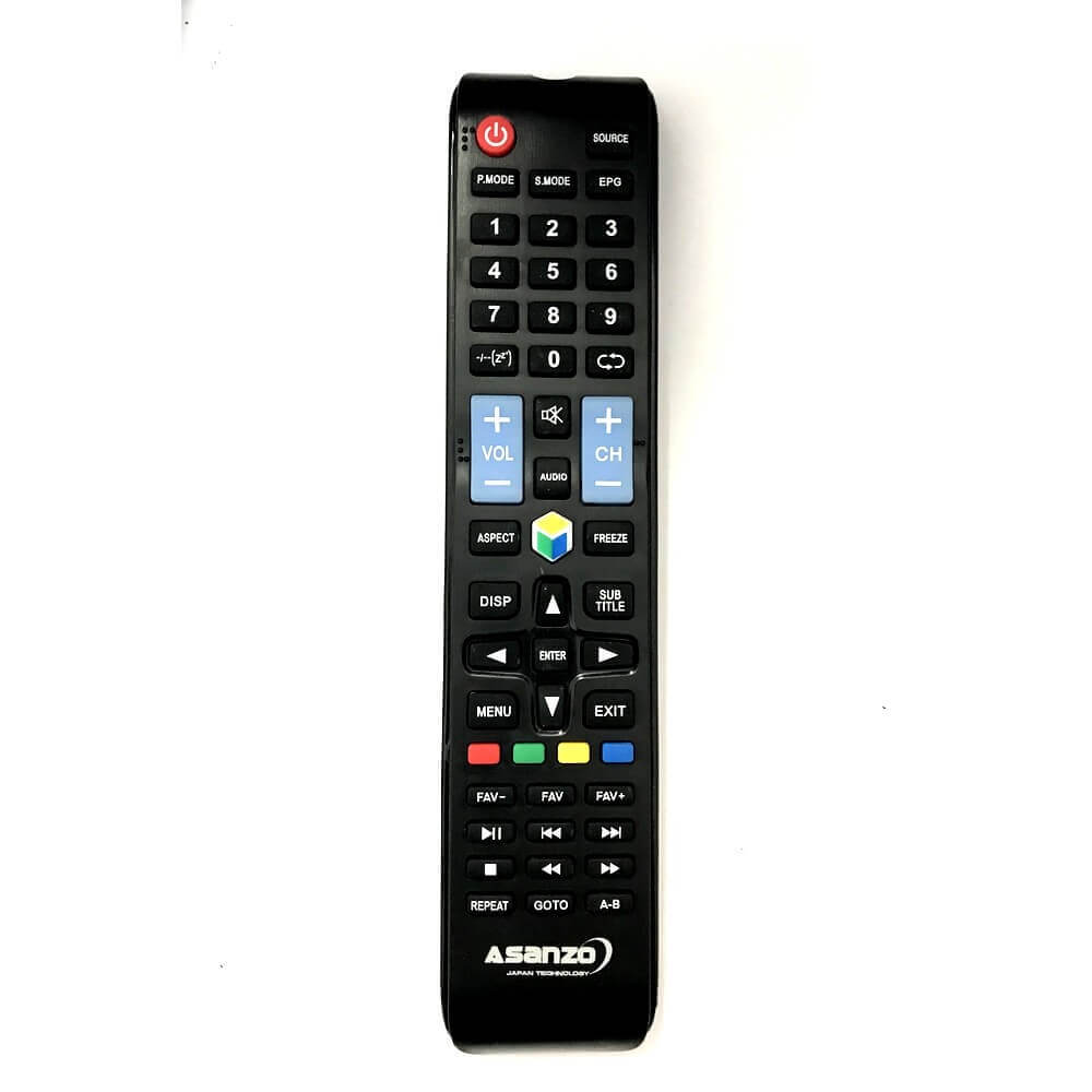 Remote / Điều khiển tivi Asanzo 29 inch 29T800