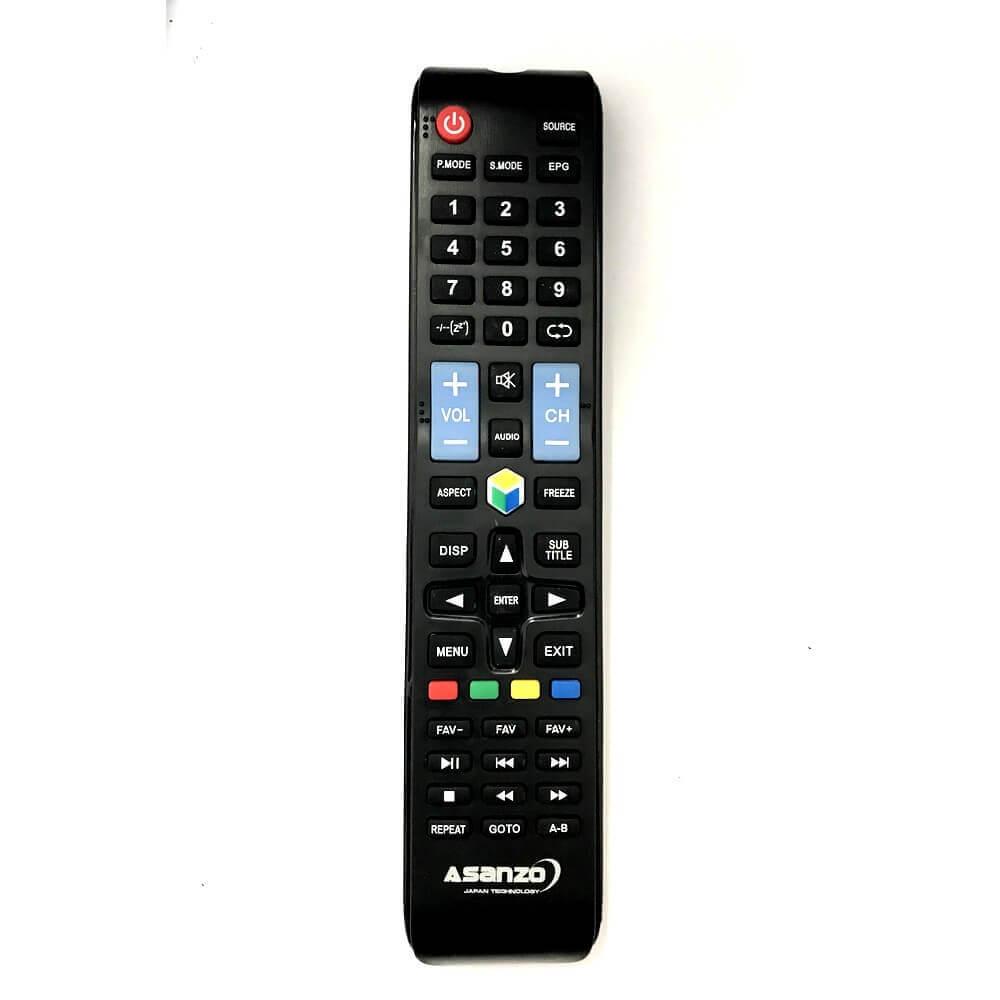 Remote / Điều khiển tivi Asanzo 32 inch 32ES900