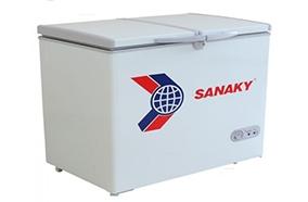 Tủ đông dàn nhôm Sanaky VH-668W1 2 ngăn 2 cánh mở – Chính hãng