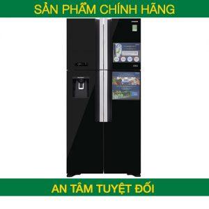 Tủ lạnh Hitachi Inverter 540 lít R-FW690PGV7 (GBW/Nâu-GBK/Đen) – Chính hãng