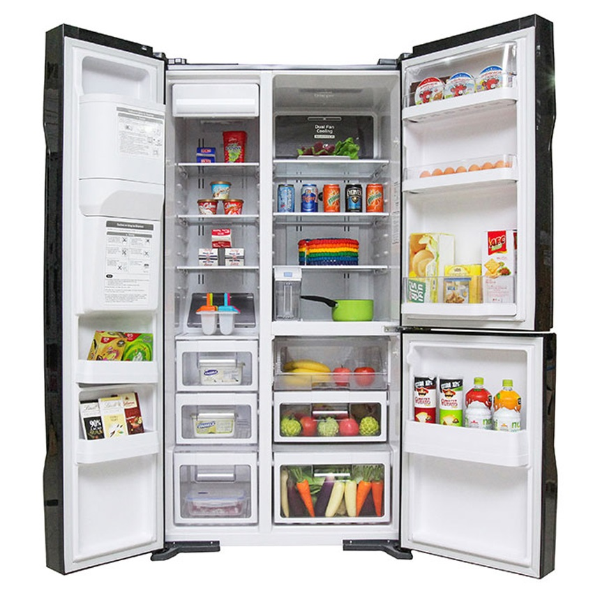 Tủ lạnh Hitachi R-M700GPGV2 GBK 3 cánh 584 lít - Chính hãng