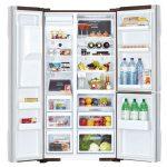 Tủ lạnh Hitachi R-M700GPGV2X MBW 3 cánh 584 lít - Chính hãng