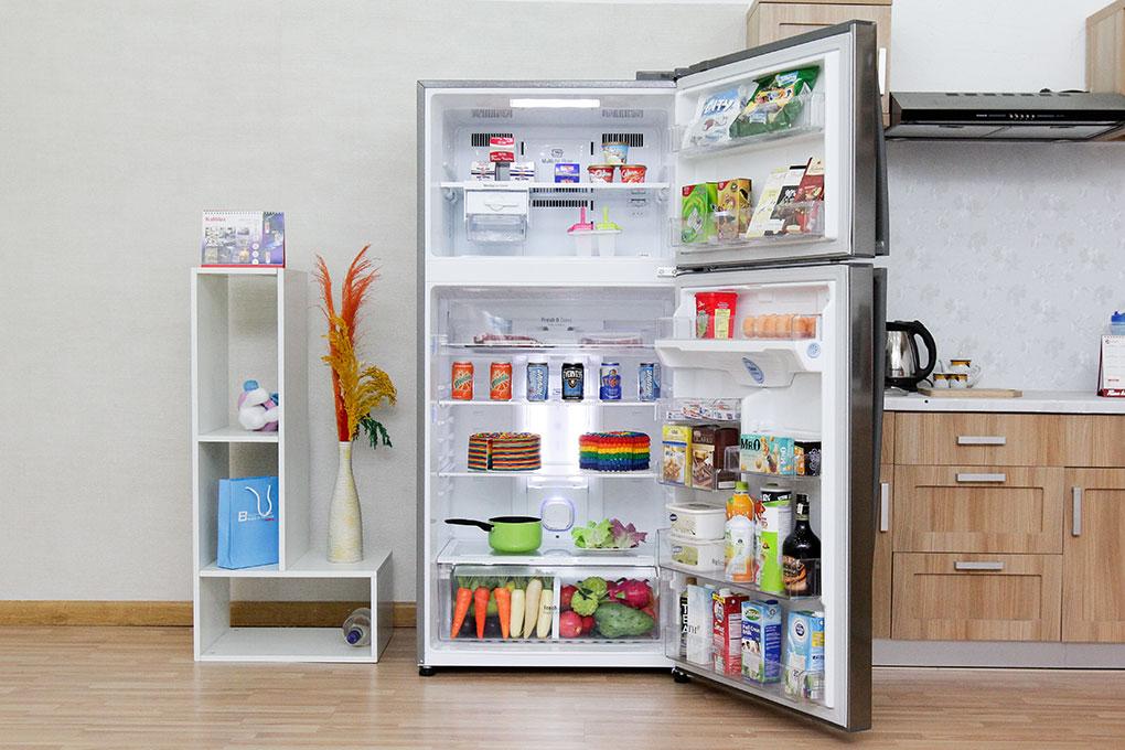 Tủ lạnh LG GR-L702S 2 cánh 490 lít - Chính hãng