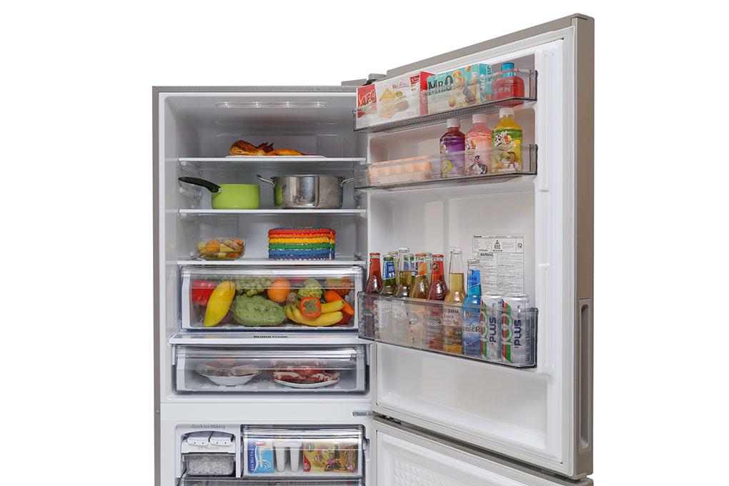 Tủ lạnh Panasonic NR-BX418XSVN  2 cánh 363 lít - Chính hãng