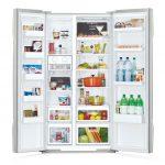 Tủ lạnh SBS Hitachi R-S700GPGV2 GBK 589 lít - Chính hãng