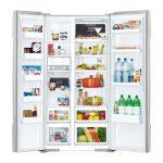 Tủ lạnh SBS Hitachi R-S700PGV2 (GBK) 605 lít - Chính hãng