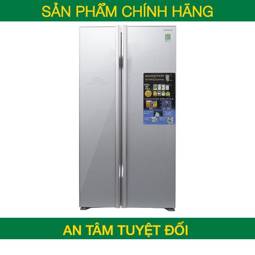 Tủ lạnh SBS Hitachi R-S700PGV2 (GS) 605 lít - Chính hãng
