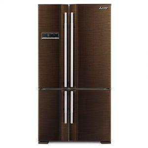 Tủ lạnh SBS Mitsubishi Electric MR-L78EH-BRW-V 4 cánh 635 lít – Chính hãng