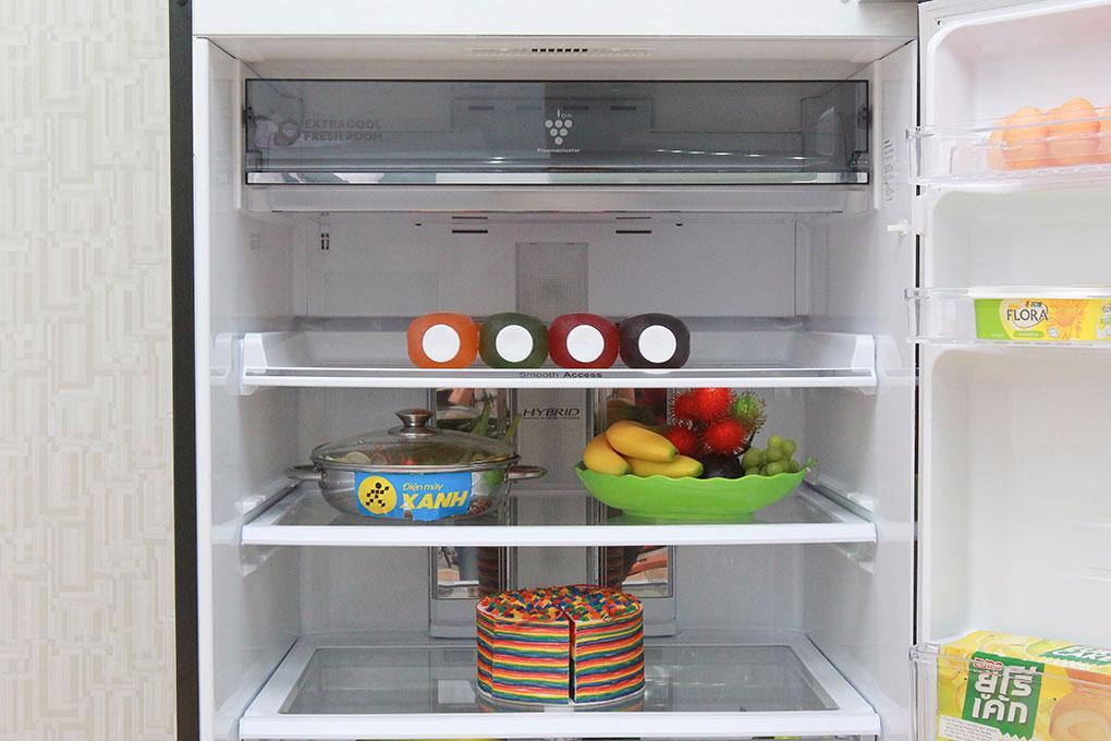 Tủ lạnh Sharp 585 lít SJ-XP590PG-BK - Chính hãng