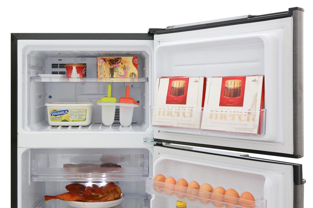 Tủ lạnh Sharp Inverter 180 lít SJ-X196E-DSS - Chính Hãng