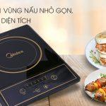 Bếp hồng ngoại Midea MIR-B2017DD - Chính hãng