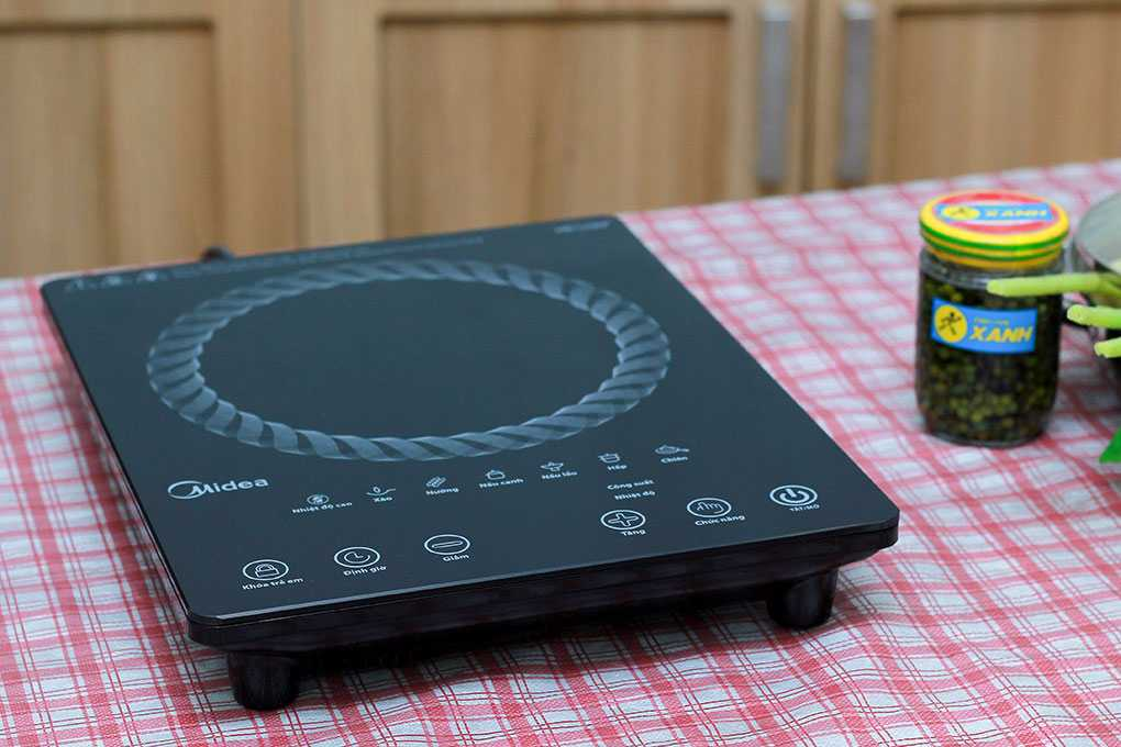 Bếp hồng ngoại Midea MIR-T2015DC - Chính hãng
