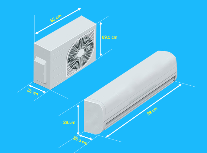 Điều Hòa Daikin 2 Chiều Inverter FTXV50QVMV 18000 BTU - Chính Hãng