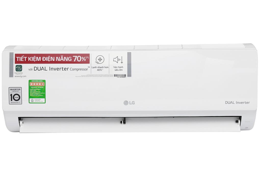 Điều hòa LG V10ENW 1 chiều Inverter 9200 BTU  Dual Cool - Chính Hãng