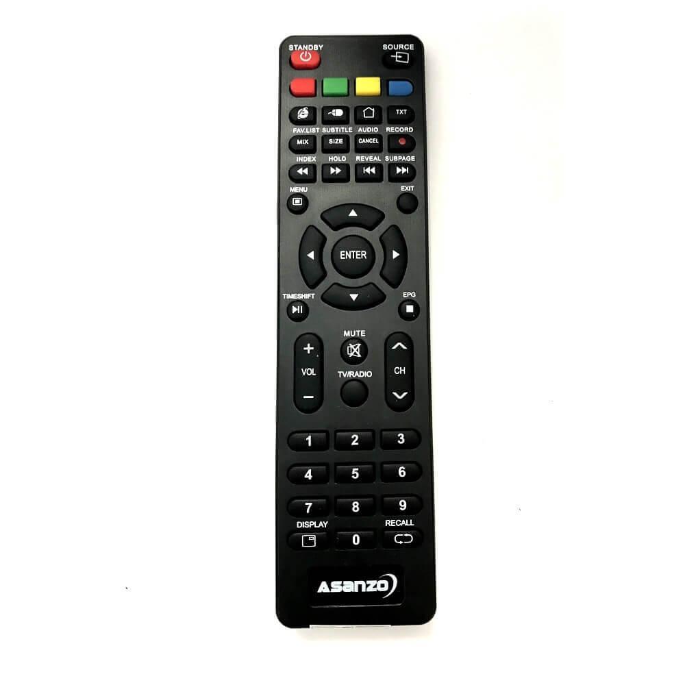 Remote / Điều khiển tivi Asanzo 18 inch 18K100