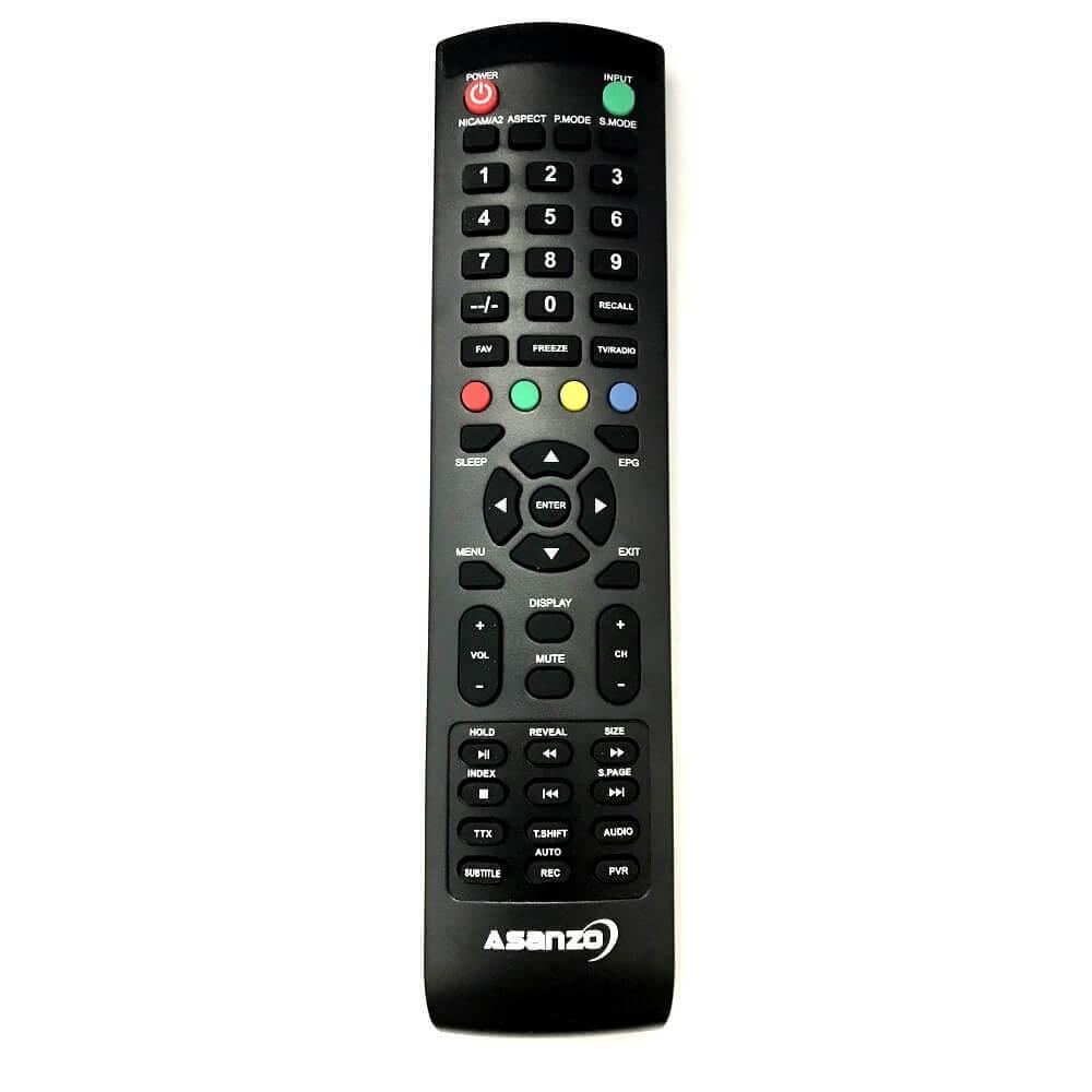 Remote / Điều khiển tivi Asanzo 25 inch 25S200T2