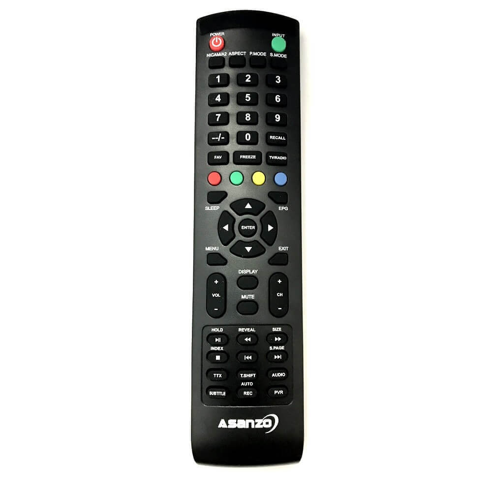 Remote / Điều khiển tivi Asanzo 29 inch 29S450