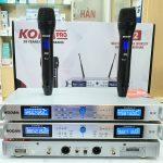 Micro không dây cao cấp KODA S12 Pro chính hãng