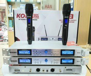 Micro không dây cao cấp KODA S12 Pro chính hãng – Cảm biến tự ngắt