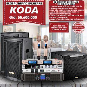 Bộ dàn KODA chính hãng KV-010 New 2021
