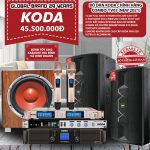 Bộ dàn loa KODA chính hãng Combo-TV03 New 2021