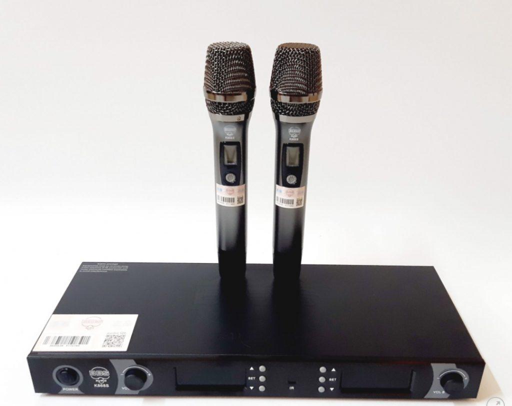 Mic không dây cao cấp BBS Audio K868S