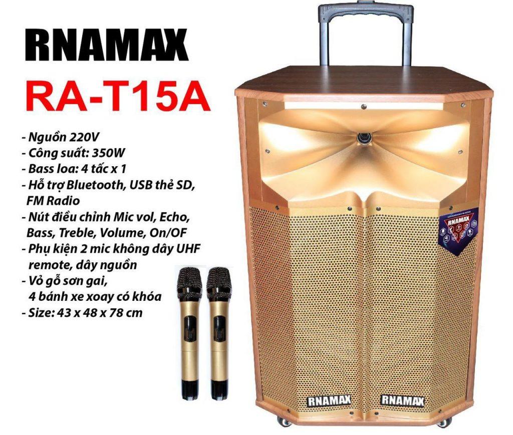 Loa Kéo karaoke RNAMAX RA-T15A