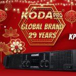 Cục đẩy 4 kênh KODA KP4900A Big LCD Screen Cao cấp