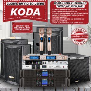 Bộ dàn KODA chính hãng Combo-011 New 2021