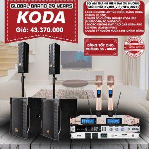 Bộ âm thanh hiện đại xu hướng mới nhất KV-008 VIP New 2021
