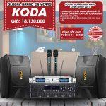 Bộ dàn KODA chính hãng KV-001 New 2021