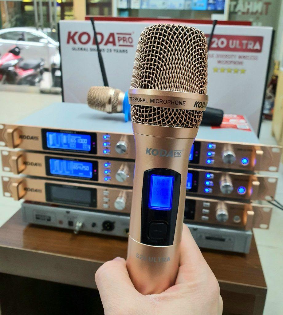 Micro không dây cao cấp KODA S20 Ultra